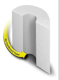 Tubeless Toilet Paper